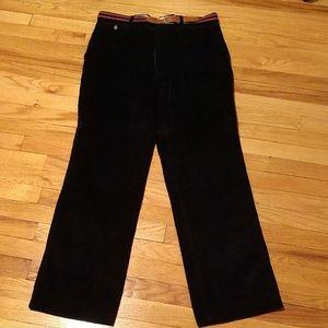 Men's Black corduroy pants
